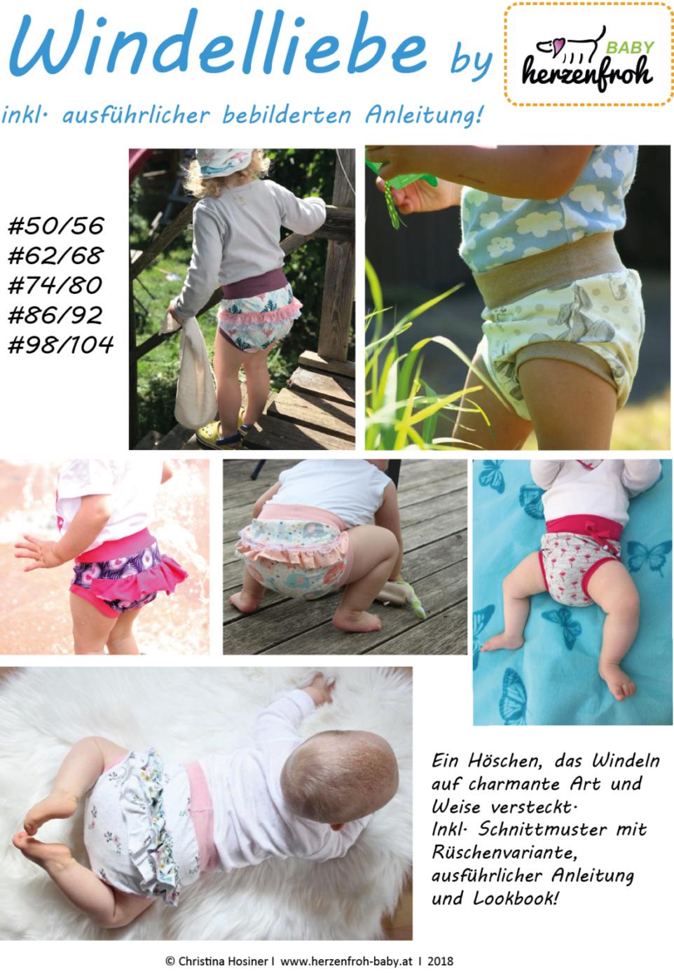 Bebilderte Nähanleitung für Baby Winterstiefelchen | Baby
